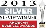 Silver American Business Award - 2013
