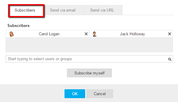 subscriber-drop-down