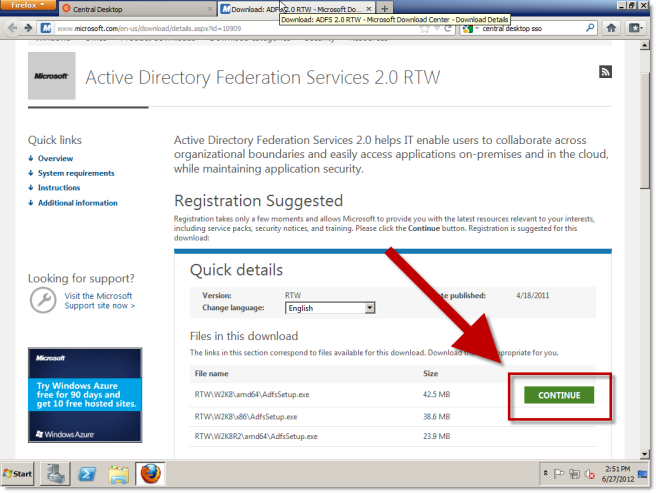 sso with microsoft adfs imeet central help center