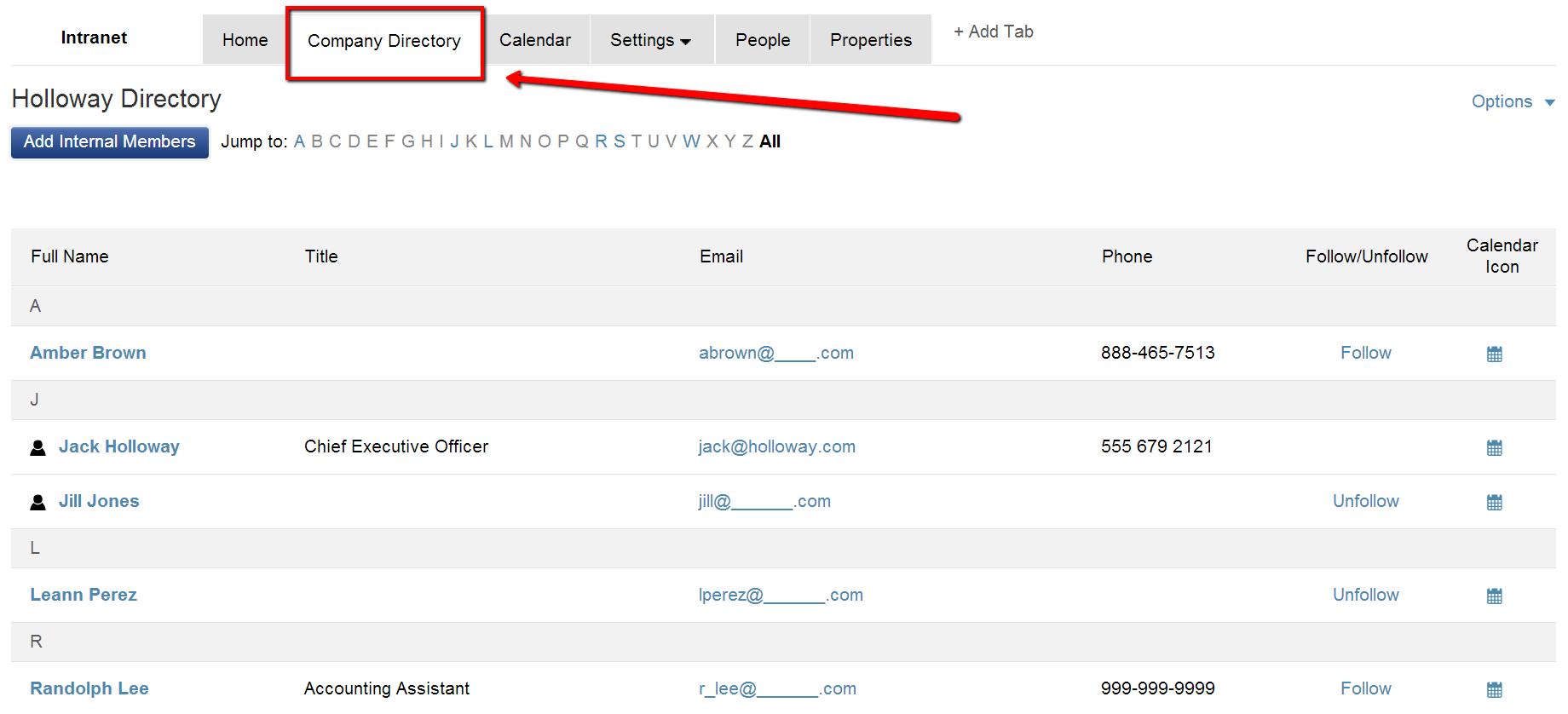 Company-Directory