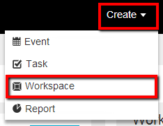 Adding workspaces