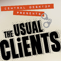 The Usual Clients infographic - Central Desktop