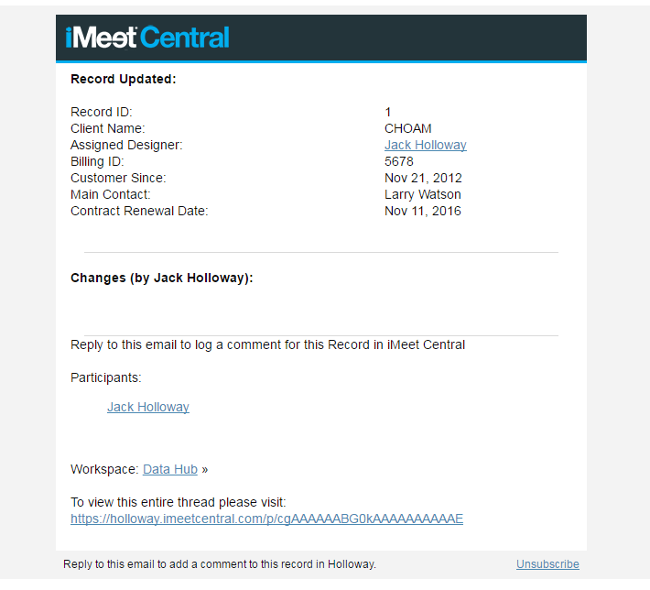 New Email Templates! – iMeet Central Help Center