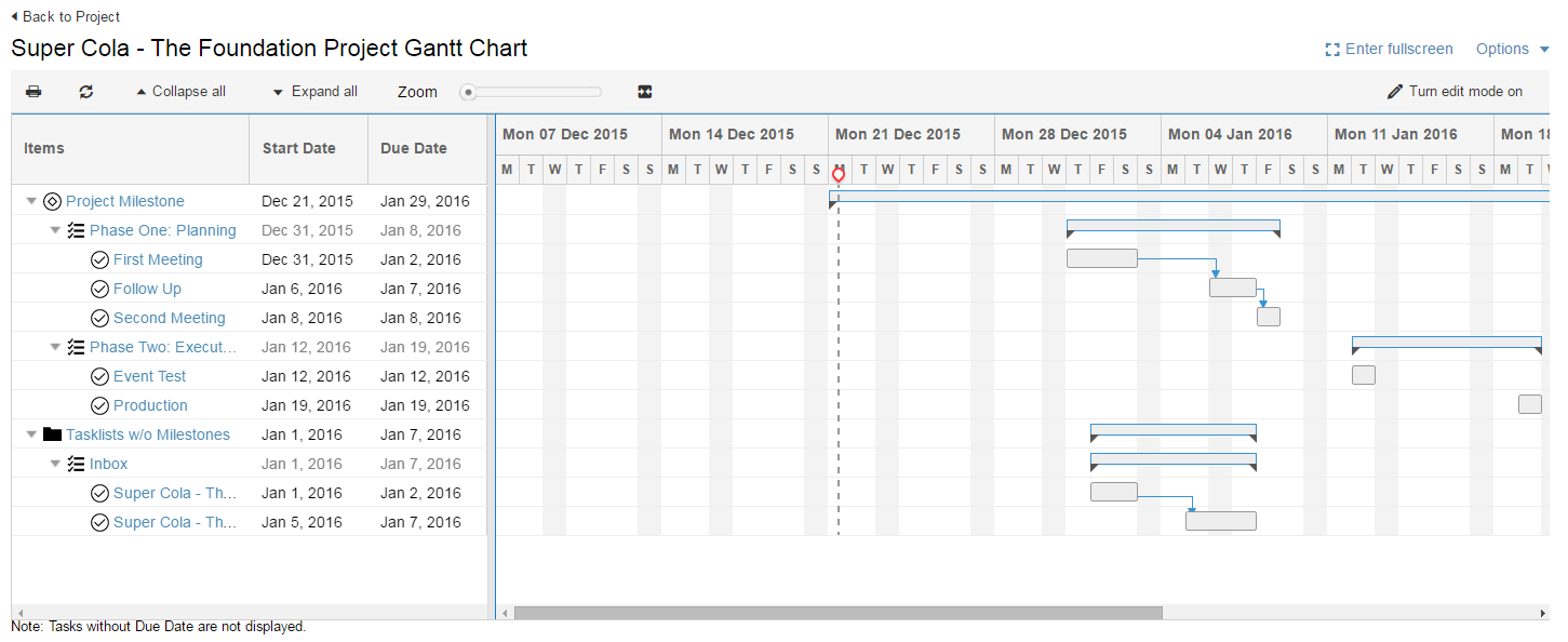 gantt charts imeet central help center