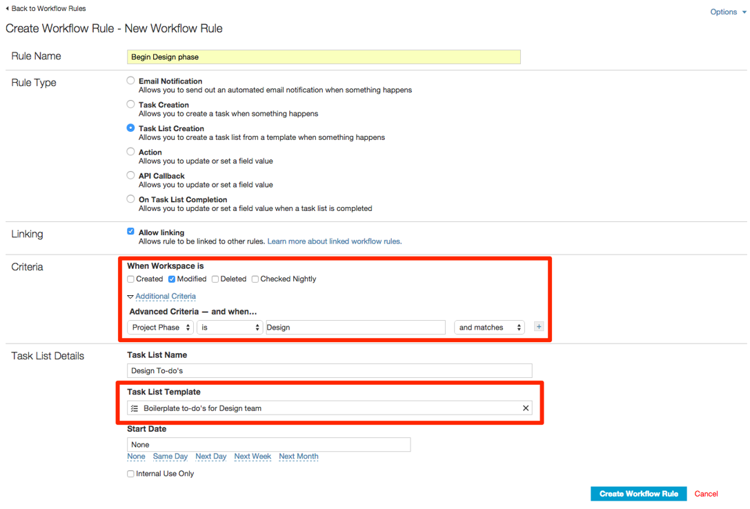Linking workflow rules – iMeet Central Help Center